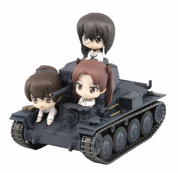 ガールズ&パンツァー 38(t)戦車B/C型 エンディングVer.全国大会時 組立塗装済完成品_1