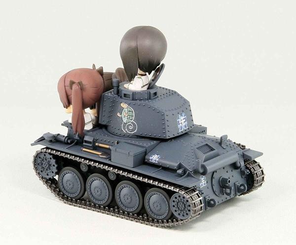 ガールズ&パンツァー 38(t)戦車B/C型 エンディングVer.全国大会時 組立塗装済完成品_2