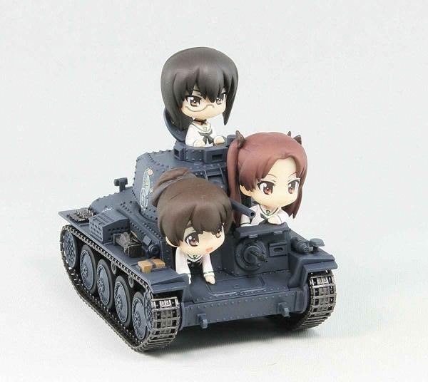 ガールズ&パンツァー 38(t)戦車B/C型 エンディングVer.全国大会時 組立塗装済完成品_4