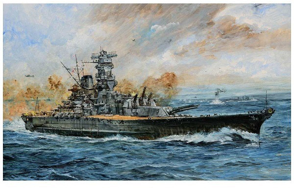 1/700 日本海軍 戦艦 大和 最終時 プラモデル