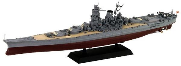 1/700 日本海軍 戦艦 大和 最終時 プラモデル_1