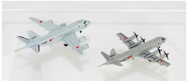 1/700 海上自衛隊 哨戒機セット(P-1、P-3C哨戒機各2機入り) プラモデル_1