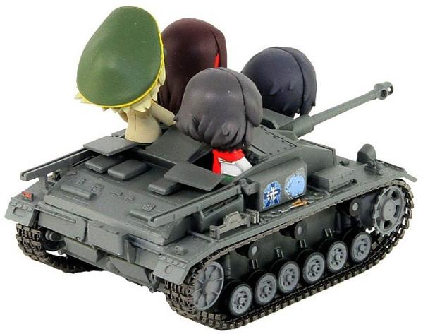 ガールズ&パンツァー III号突撃砲F型エンディングVer.全国大会時 塗装済み完成品_1