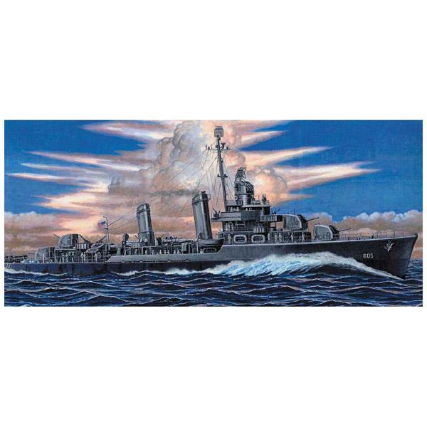 1/700 アメリカ海軍 駆逐艦 DD-605 コールドウェル(W212)