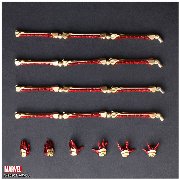MARVEL UNIVERSE VARIANT BRING ARTS DESIGNED BY TETSUYA NOMURA スパイダーマン_6