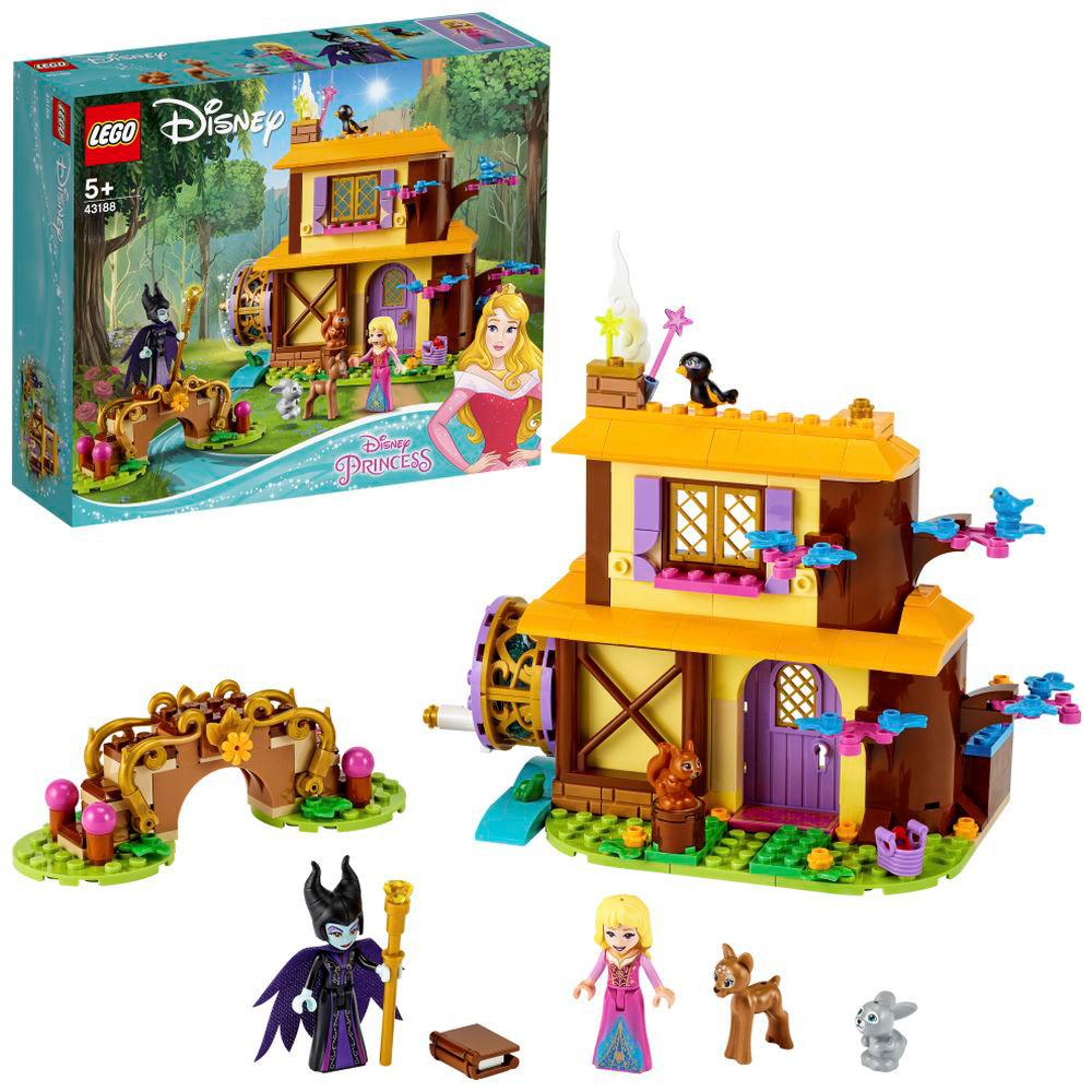 LEGO(レゴ) 43188 ディズニープリンセス オーロラ姫の森のコテージ