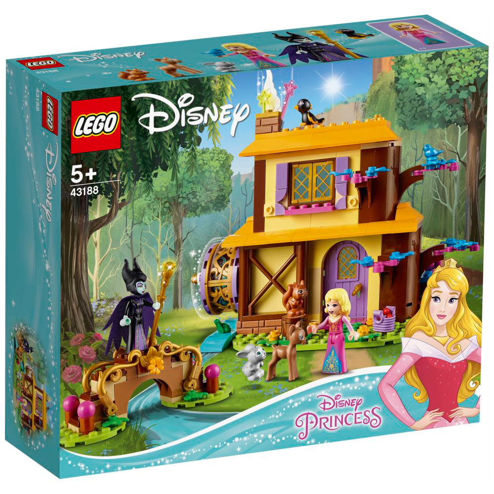 LEGO(レゴ) 43188 ディズニープリンセス オーロラ姫の森のコテージ_4