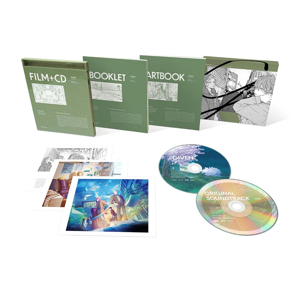 映画 ギヴン 完全生産限定版 DVD アクリルスタンド2体セットつき ソフマップ・アニメガ限定セット_2