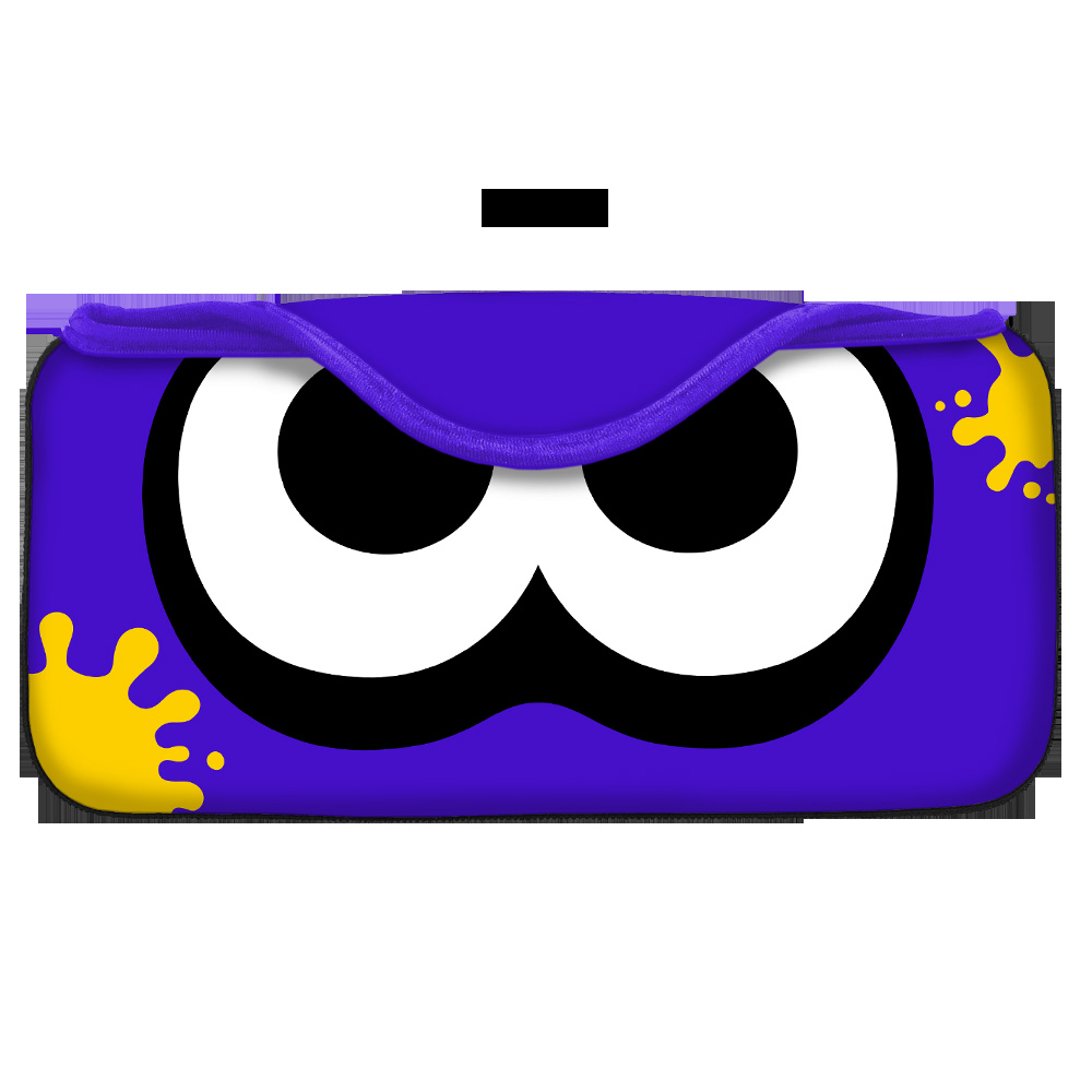 QUICK POUCH COLLECTION for Nintendo Switch イカ:ブライトブルー CQP-003-2 CQP-003-2 イカ:ブライトブルー