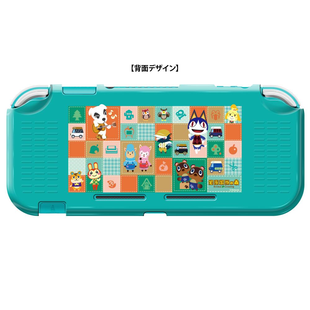 【在庫限り】 PC BODY COVER COLLECTION for Nintendo Switch Lite どうぶつの森 CPC-101-1 CPC-101-1_3