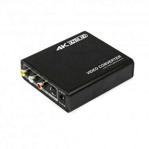 4K出力対応 S端子/コンポジット出力変換アップスキャンコンバータ「TSCHDMI4」 TSCHDMI4_1