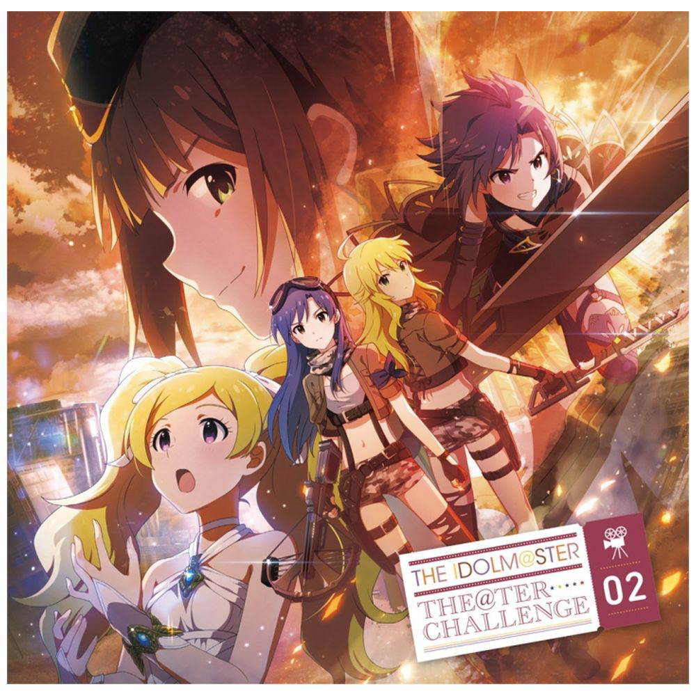 THE IDOLM@STER THE@TER CHALLENGE 02 CD