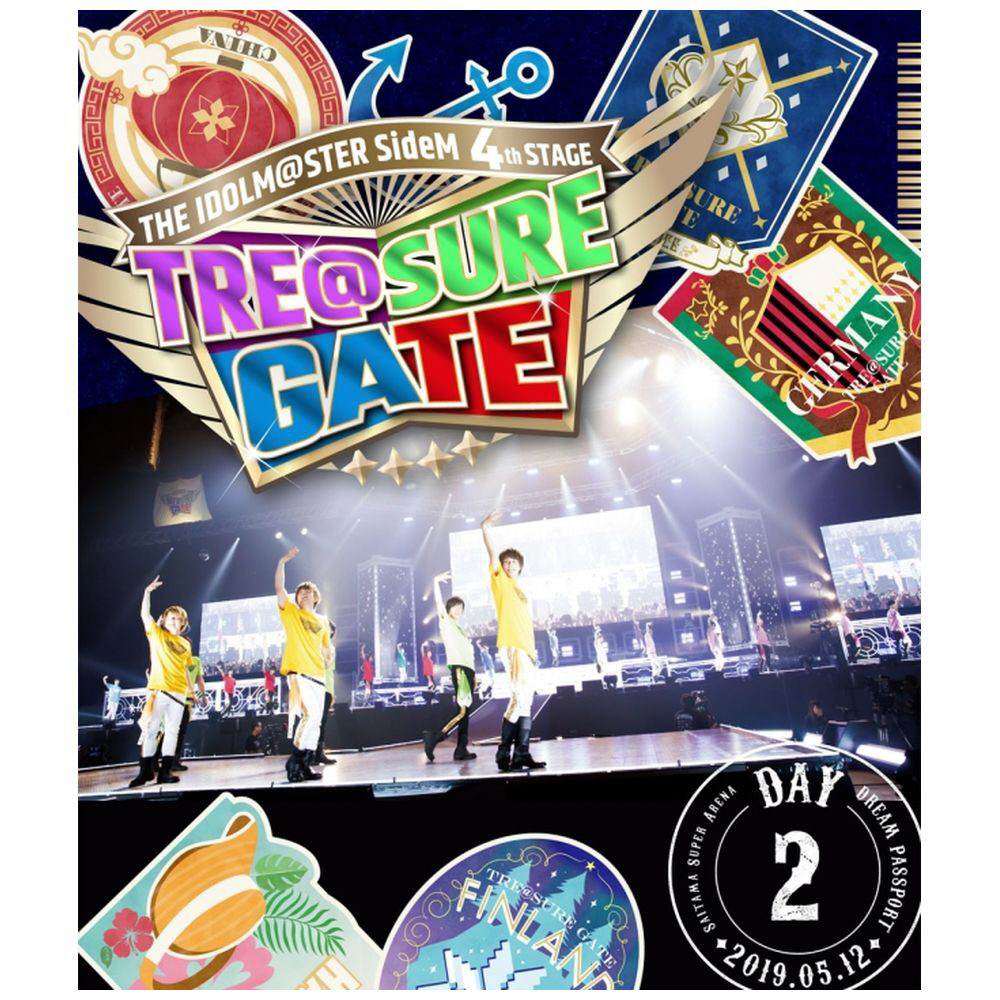 THE IDOLM@STER SideM 4th STAGE 〜TRE@SURE GATE〜 LIVE Blu-ray 【DREAM PASSPORT(DAY2通常版)】