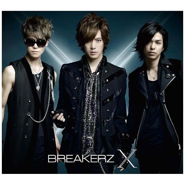 BREAKERZ/X 初回限定盤A 【CD】   [CD]