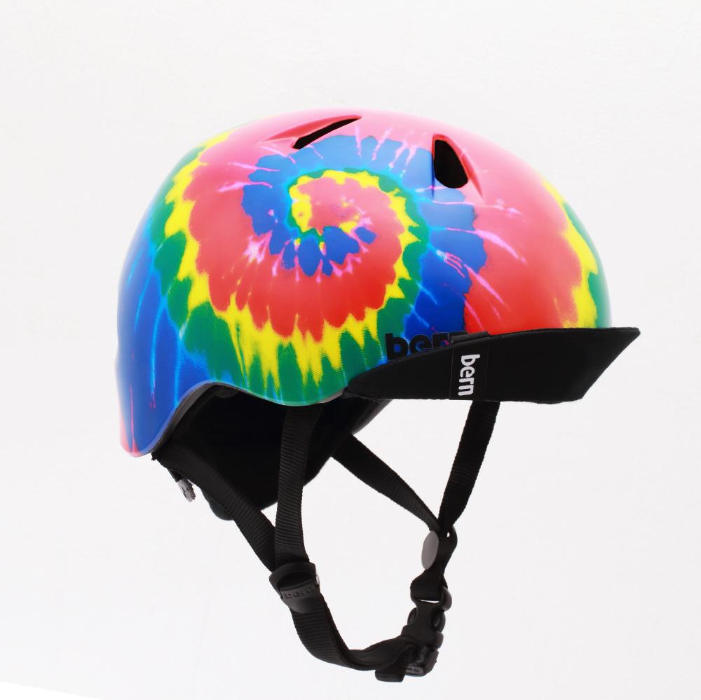 子供用ヘルメット bern/NINO ALL SEASON BE-VJBTD(S-M:51.5〜54.5cm/TIE-DYE) 推奨年齢3-6歳