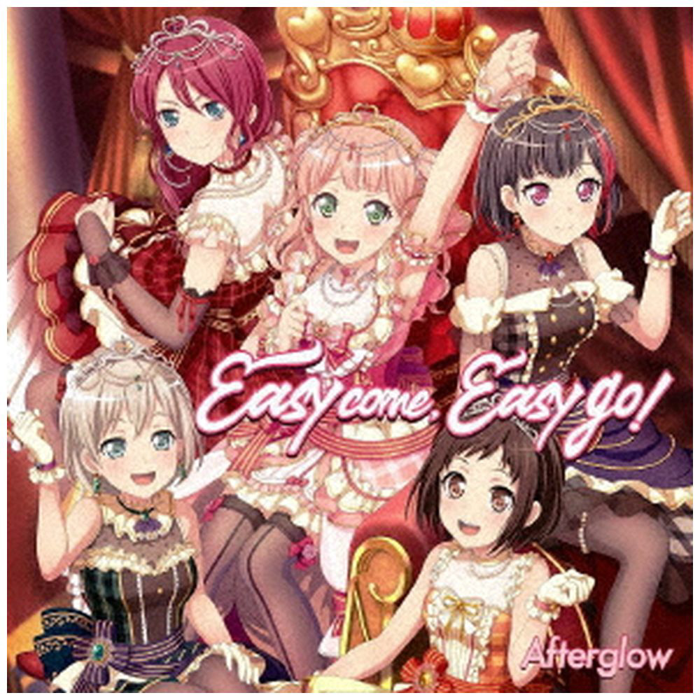 Afterglow / Easy come, Easy go! Blu-ray付生産限定盤 CD