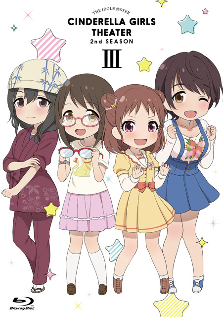 [3] アイドルマスター シンデレラガールズ劇場 2nd SEASON 第3巻 BD