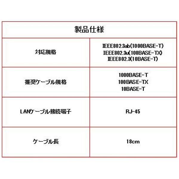 Switchドック用 LAN接続アダプタ V3 ブラック [ANS-SW021BK]_2