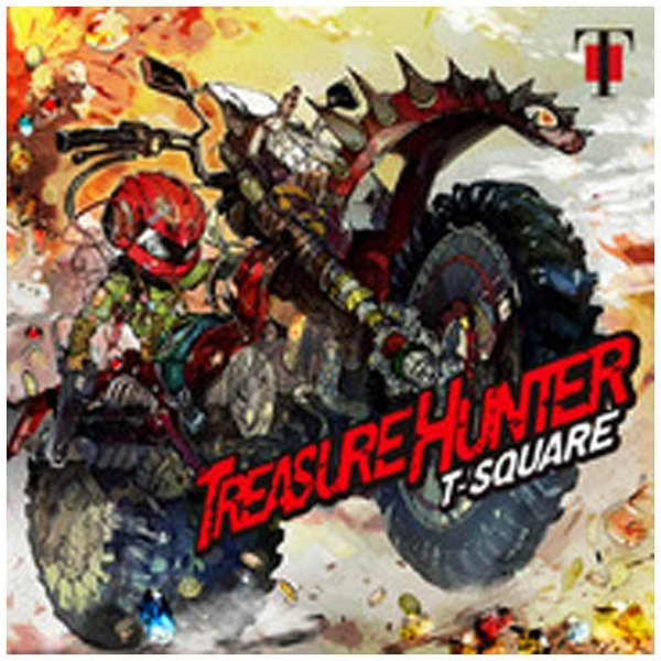T-SQUARE/TREASURE HUNTER 【CD】   [T-SQUARE /CD]