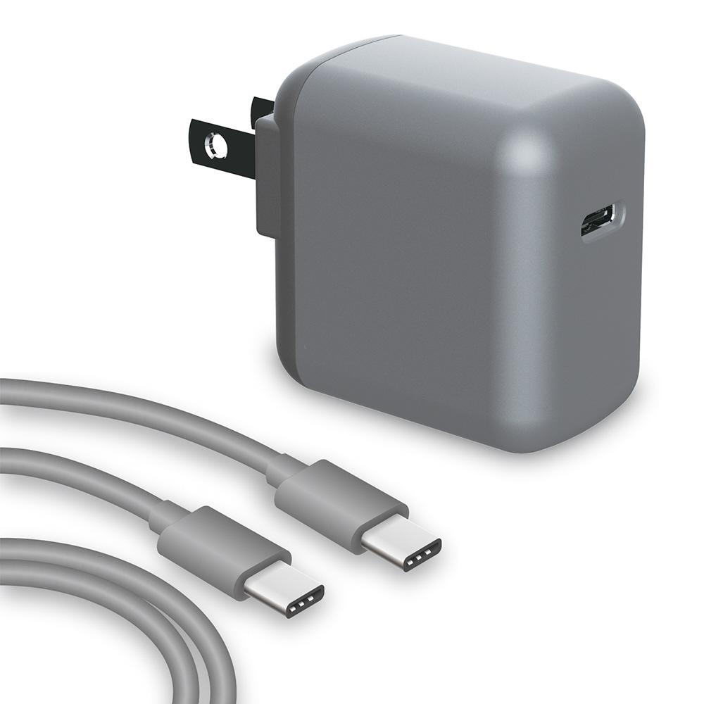 SwitchLite用 USB-C 充電器セット グレー BKS-NSL009  グレー BKS-NSL009_2