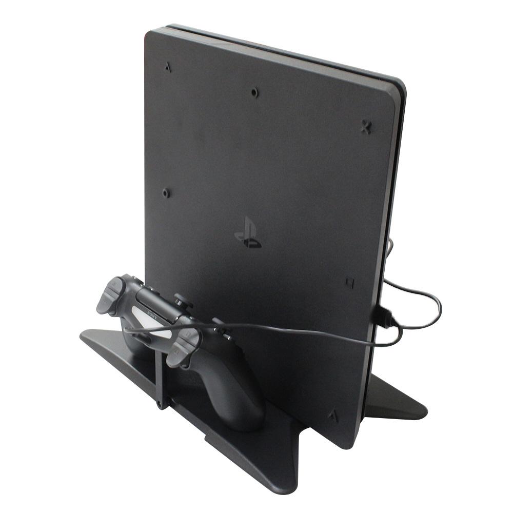 PS4Slim&PS4Pro用 マルチ縦置きスタンド (CUH-2000シリーズ/7000シリーズ対応) [BKS-P4MTSD] 【ビックカメラグループオリジナル】_3