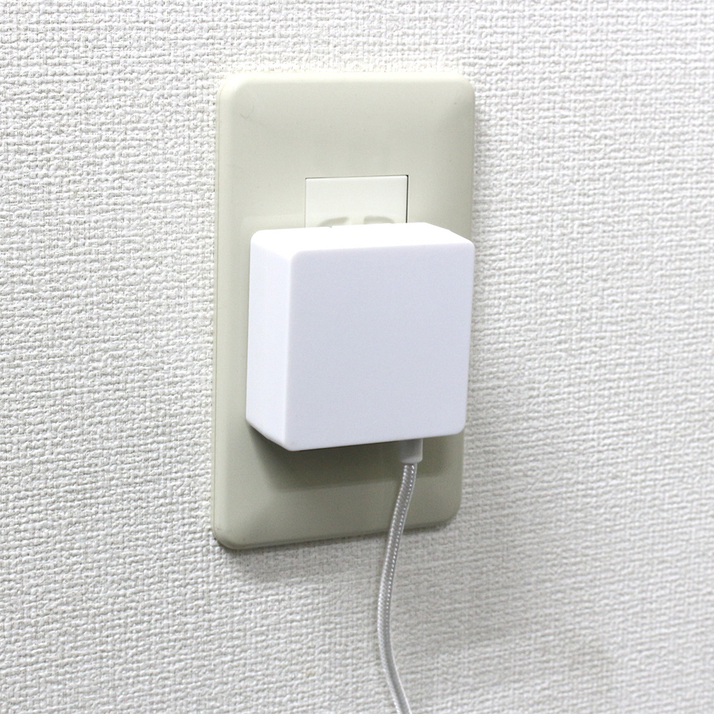 Switch用AC充電器 1.5m ホワイト [Switch] [BKS-NSTACW] 【ビックカメラグループオリジナル】_6