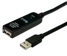 USB2.0アクティブ延長ケーブル10m CBL-203B-10M