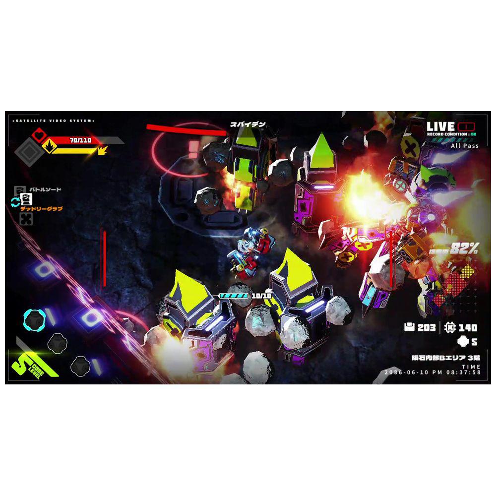 【特典対象】 メタリックチャイルド 【Switchゲームソフト】 ◆ソフマップ特典「描き下ろしB2タペストリー」_5