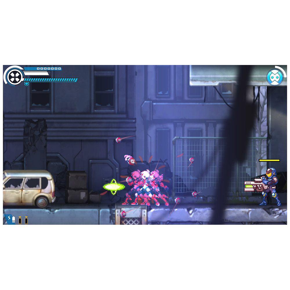 〔中古品〕白き鋼鉄のX(イクス) THE OUT OF GUN VolT 【PS4】_11