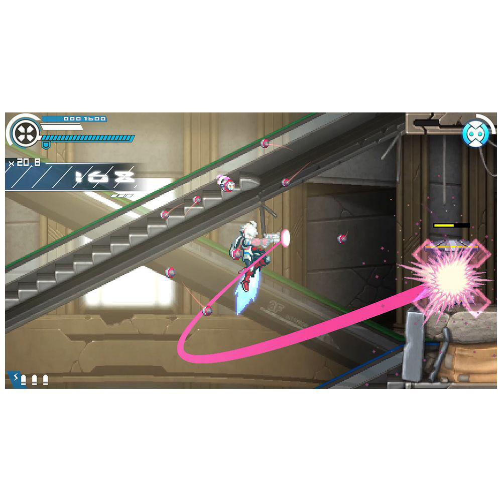 〔中古品〕白き鋼鉄のX(イクス) THE OUT OF GUN VolT 【PS4】_19