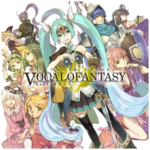 EXIT TUNES PRESENTS Vocalofantasy feat.初音ミク CD