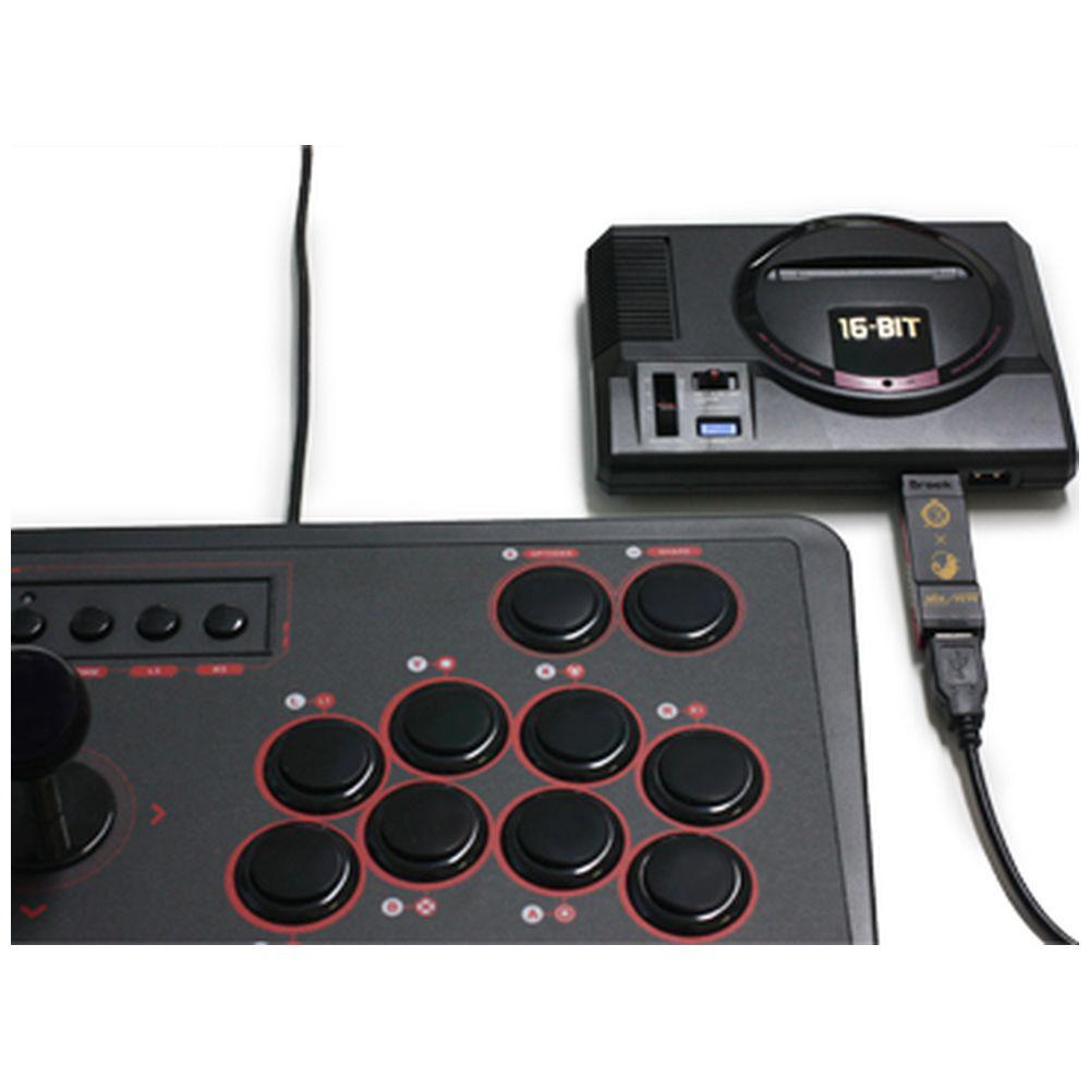 スーパーコンバーター(MDミニ用)PS4・PS3用コントローラ対応 CC-MMSCV-BK CC-MMSCV-BK_2