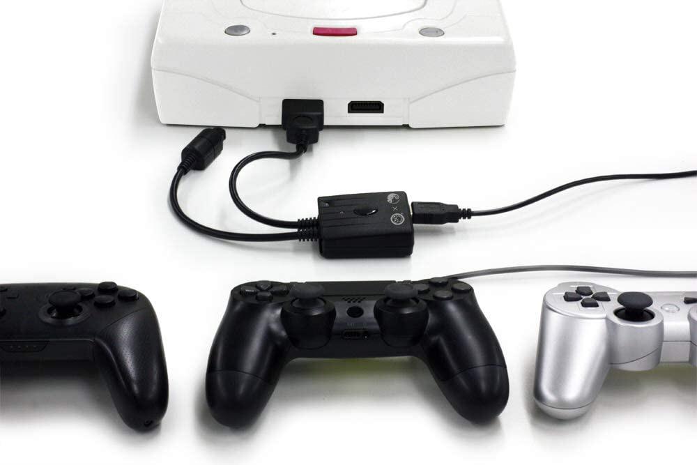 スーパーコンバーター(DC/SS用)PS4/PS3/Switch用コントローラ対応 CC-SDSCVBK   CC-SDSCVBK_1