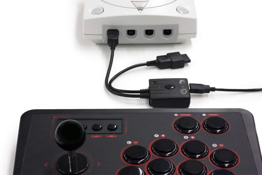 スーパーコンバーター(DC/SS用)PS4/PS3/Switch用コントローラ対応 CC-SDSCVBK   CC-SDSCVBK_2