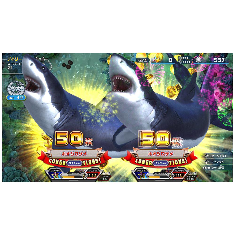 釣りスピリッツ Nintendo Switchバージョン同梱版(ソフト+専用Joy-Conアタッチメント for Nintendo Switch1セットつき)   BNEI-00072 [Switch]_5