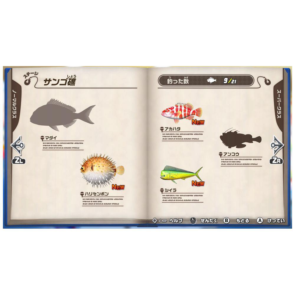 釣りスピリッツ Nintendo Switchバージョン同梱版(ソフト+専用Joy-Conアタッチメント for Nintendo Switch1セットつき)   BNEI-00072 [Switch]_6