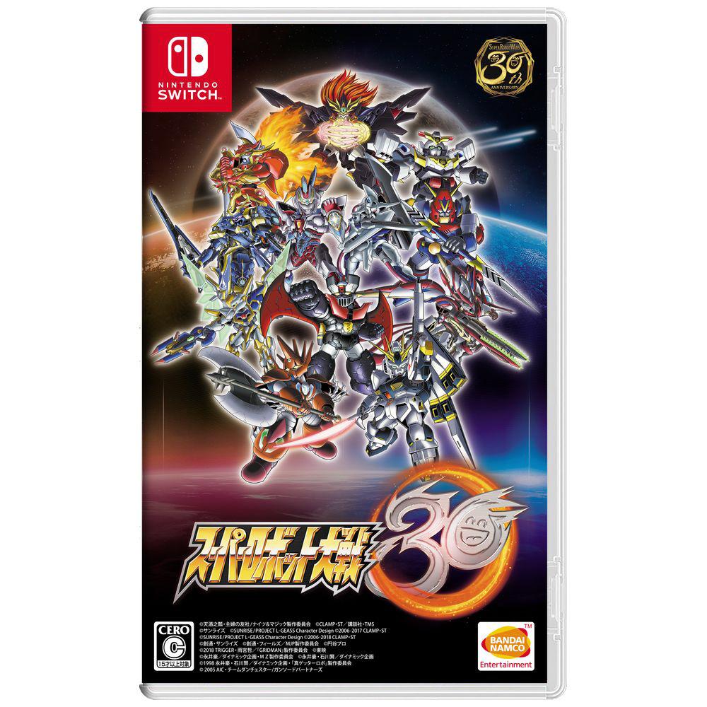 スーパーロボット大戦30 【Switchゲームソフト】