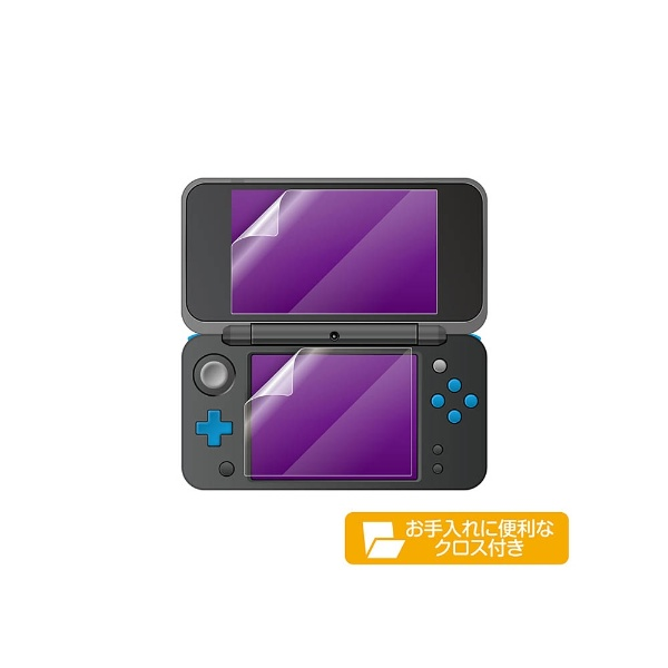 new2DSLL用液晶保護フィルム 空気入らなシート [New2DS LL] [N2F1986]_2