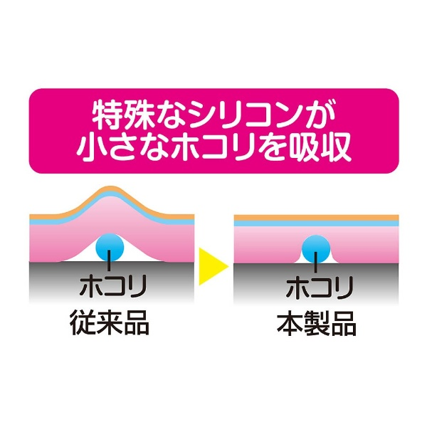 new2DSLL用液晶保護フィルム 空気入らなシート [New2DS LL] [N2F1986]_4
