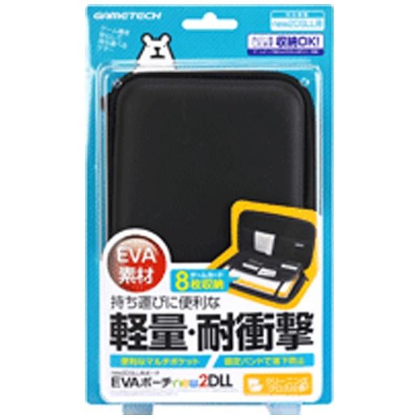 EVAポーチnew2DLL ブラック [New2DS LL] [N2F1992]