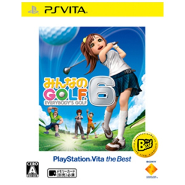 みんなのGOLF 6 PlayStation Vita the Best 【PS Vitaゲームソフト】