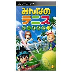 みんなのテニス ポータブル【PSP】