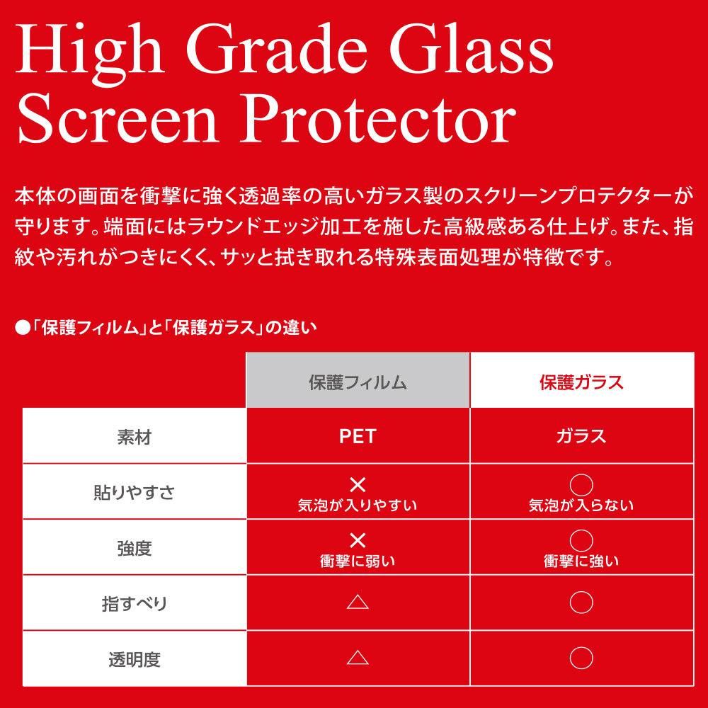 【ビックカメラグループオリジナル】 任天堂Switch用 ガラスフィルム ARコート対応 透明タイプ [BKS-NSG3AF]_3