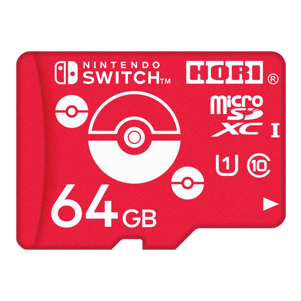 ポケットモンスター microSDカード for Nintendo Switch 64GB モンスターボール NSW-191 NSW-191_3