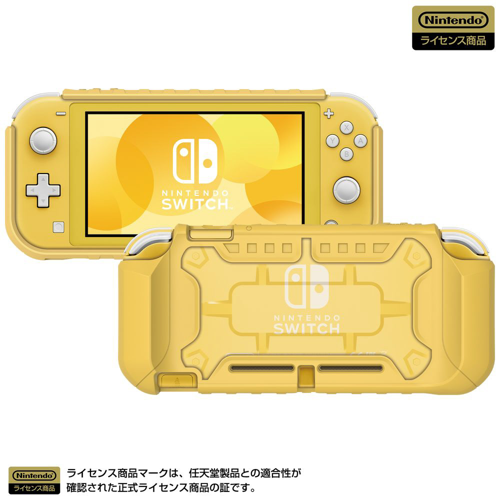 タフプロテクター for Nintendo Switch Lite クリア×イエロー NS2-054 NS2-054 クリア×イエロー_1