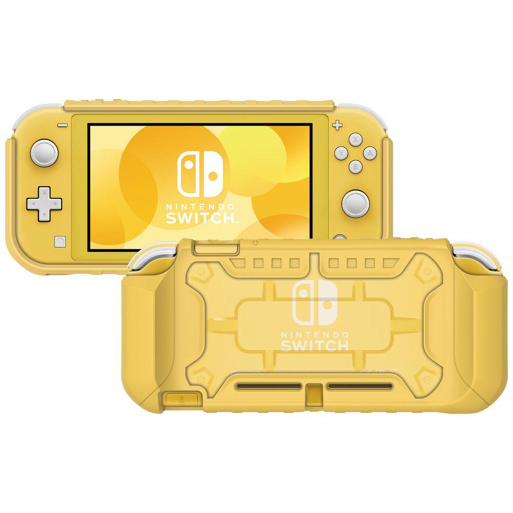 タフプロテクター for Nintendo Switch Lite クリア×イエロー NS2-054 NS2-054 クリア×イエロー_2