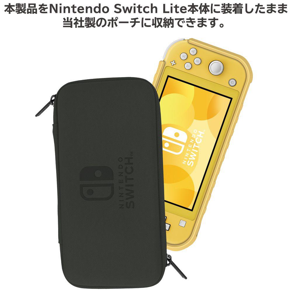 タフプロテクター for Nintendo Switch Lite クリア×イエロー NS2-054 NS2-054 クリア×イエロー_4