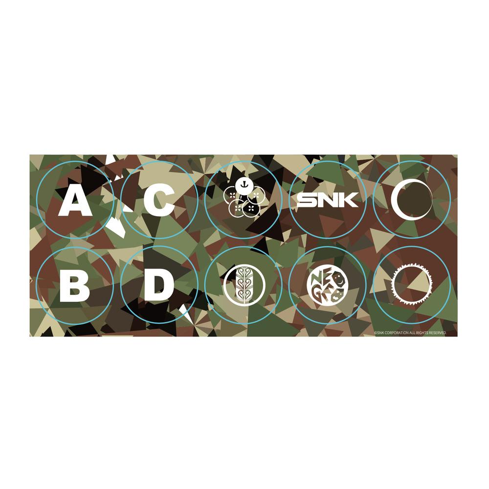 【在庫限り】 NEOGEO Arcade Stick Proボタンステッカー(Standard) FP4X1N1903