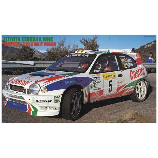 """1/24 トヨタ カローラ WRC """"1998 モンテカルロ ラリー ウィナー"""" プラモデル"""