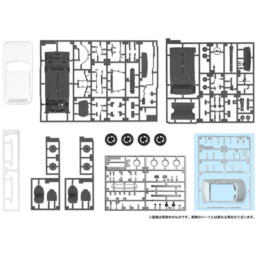 1/24 ホンダ シビック RS(SB-1) 3ドア ハッチバック_4